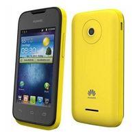 """Huawei Ascend Y210D Android, экран 3.5"""" TFT (320x480), ОЗУ 256 Мб, флэш-память 512 Мб, карты памяти, камера 2 Мп, аккумулятор 1700 мАч, 2 SIM, цвет желтый, небольшой удобный телефон, хорошее рабочее с"""