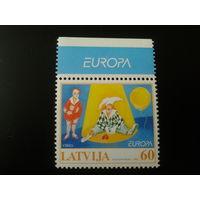 Латвия. 2002г. Европа. Цирк.