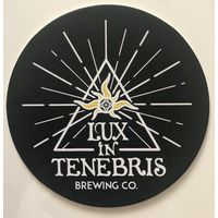 Подставка под пиво пивоварни Lux in Tenebris brewing Co /Россия/-2