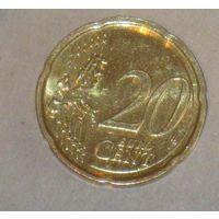 20 евро центов 2015 Литва