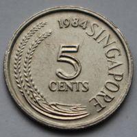 5 центов 1984 Сингапур