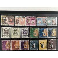 Лот марок Венесуэлы.  Есть чистые дорогие марки. Все на фото!  С 1 руб!