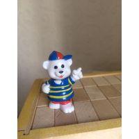 Фигурка Игрушка Белый Медвежонок Мишка Медведь