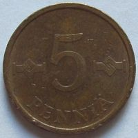 Финляндия, 5 пенни 1971 г