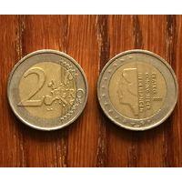 Нидерланды, 2 евро 2002