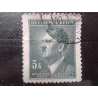Богемия и Моравия 1942 фюрер 5к