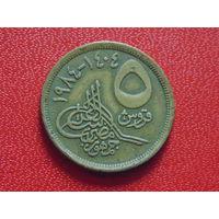 Египет 1984 г. 5 пиастров.