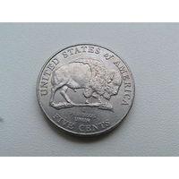 5 центов 2005 г бизон