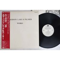 Emerson, Lake & Palmer - Works Volume 2 (JAPAN LP 1977 вставка)