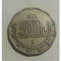 Мексика 50 Сентаво 2002
