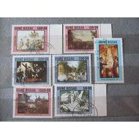 Гвинея-Бисау. 1989. Живопись. 200 лет французской революции.Сер. 7 м