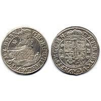 Орт 1622/3, Пруссия, Георг Вильгельм. Перегравировка последней цифры в дате - интересный вариант.