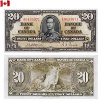 [КОПИЯ] Канада 20 долларов 1937г.