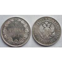 1 марка 1915 S серебро