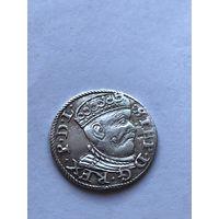 3 гроша 1585г (Рига)