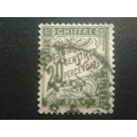 Франция 1906 доплатная марка