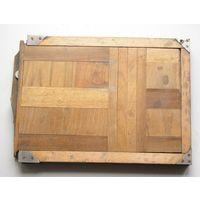Кассета для фотопластинок деревянная для форматной фотокамеры 18х24 см на запчасти
