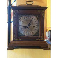 Антикварные каминные часы с четвертным боем HAMILTON USA.
