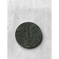 Польша 2 гроша 1927