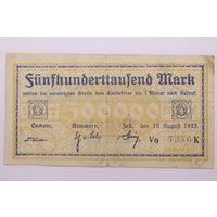 Германия, 500 000 марок 1923 год