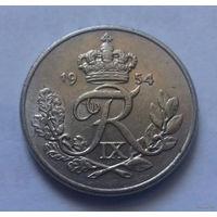 10 эре, Дания 1954 г.