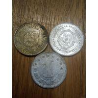 Монеты старая Югославия