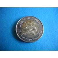 Уганда 1000 шиллингов 2012 г.