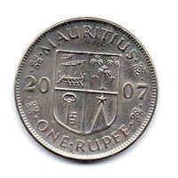 РЕСПУБЛИКА МАВРИКИЙ. 1 РУПИЯ 2007
