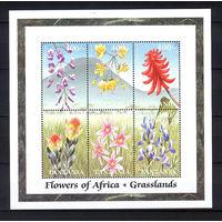 1999 Танзания. Цветы