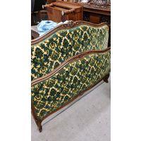 Кровать из Франции зеленая