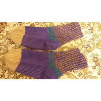 Носки теплые вязаные