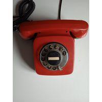 Телефон времен СССР  (Болгария)  в рабочем состоянии
