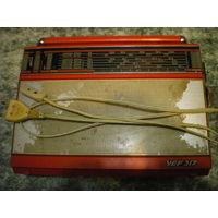 Радиоприемник VEF 317, исправный.