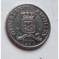 Нидерландские Антильские острова 25 центов, 1971 4-4-63