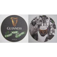 Подставка под пиво Guinness /Ирландия  /.