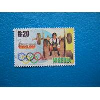 Нигерия 2000 г. Мi-1727. Олимпийские игры. Сидней.