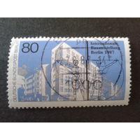 Берлин 1987 архитектура Михель-1,5 евро гаш.