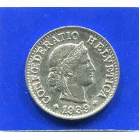 Швейцария 5 раппен 1939