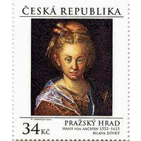 Живопись. Ханс фон Аахен. Голова женщины Чехия 2015 **
