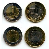 Марокко 5, 10 дирхамов 2015 г.