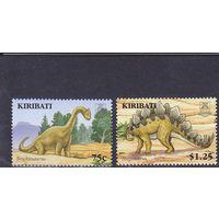 2006 Кирибати Динозавры** Фауна