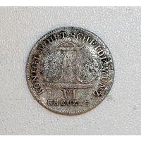 6 крейцеров 1810 Вюртенберг