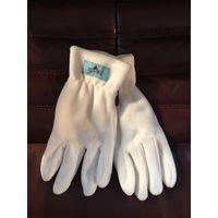 Перчатки белые р-р 8-8,5