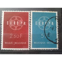 Бельгия 1959 Европа Полная серия