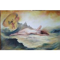 """Картина """" Венера и купидон"""""""