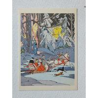 Алфеевский сказка 1963 10х15  см