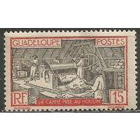 Гваделупа. Производство сахара. 1928г. Mi#101.