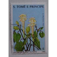 Сан-Томе и Принцип.1988.цветы