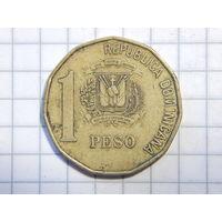 Доминиканская Республика 1 песо 1997