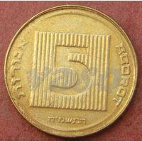 6069:  5 агорот 1985 Израиль